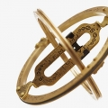 Bild 2 von Pocket Sundial antique vinatge brass